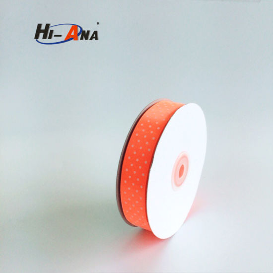 Rapid and Efficient Cooperation Hot Selling Printed Satin Ribbon pictures & photos