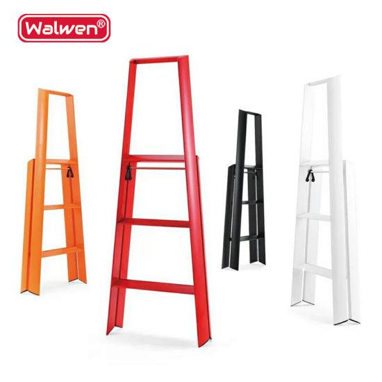 Pleasant 3 Steps Step Ladder A Frame Platform Aluminum Library Beatyapartments Chair Design Images Beatyapartmentscom