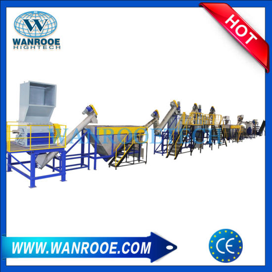 Competitive Price Waste Plastic Scrap Bottle Recycling Washing Line