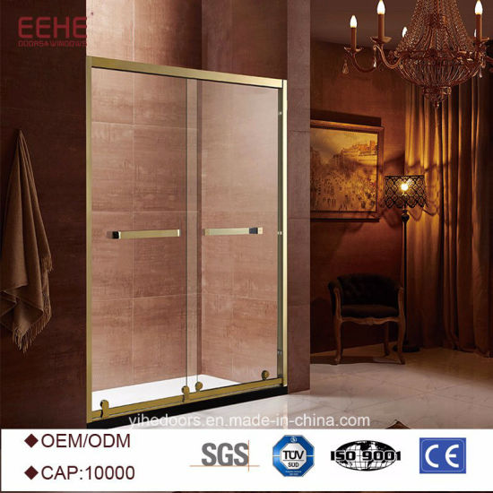 China Three Sided 6mm Glass Bathroom Shower Room Enclosure Price in ...