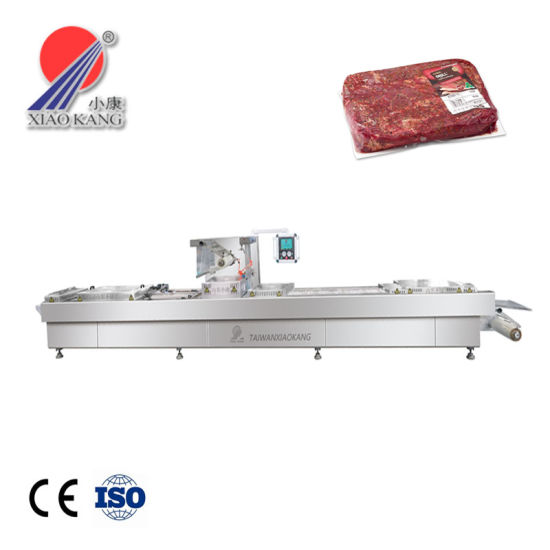 Food Grade Thermoforming Vacuum Packing Machine with Ce Certificate (DLZ-420)