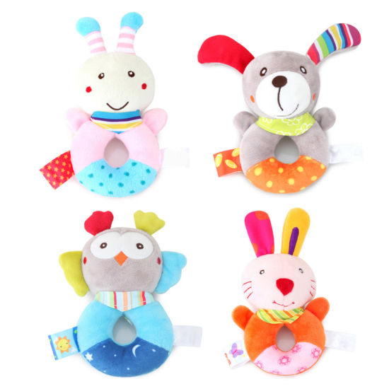 Newborn Baby Toys 0-12 Months Animal Plush Rattle Mobile Bell Toy Infant Early Educational Toys