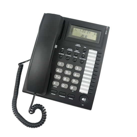 Caller ID Phone Telephone System pH206 for Business Hotel Telephone pictures & photos
