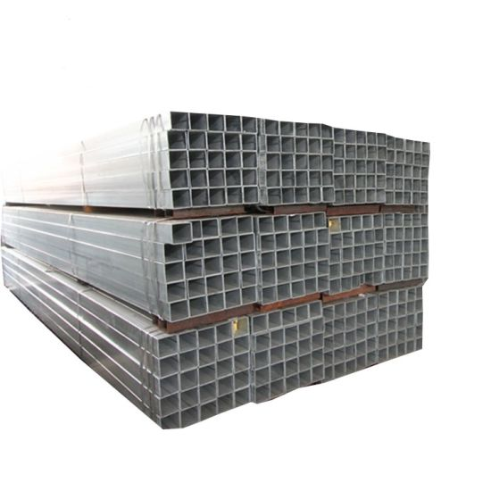 50X70 Galvanized Rectangular Hollow Section Weight/40X80 Galvanized Rectangular Tube/ERW Steel Pipe/ Welded Pipe Price