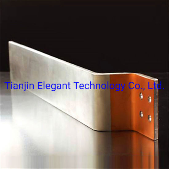 Copper Clad Aluminium Bus Bar / Copper Foil Soft Connection for Electrolysis/ Electroplating
