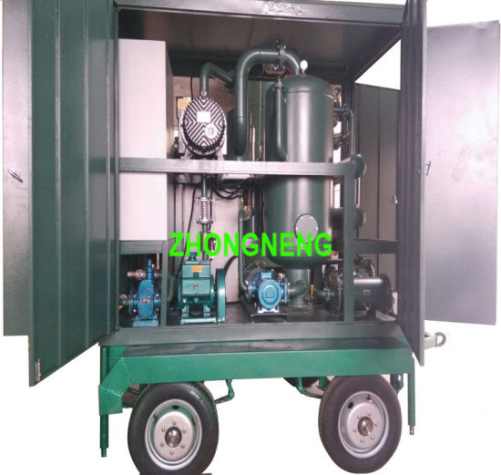 2 Stage Vacuum Transformer Oil Purification / Oil Filtration