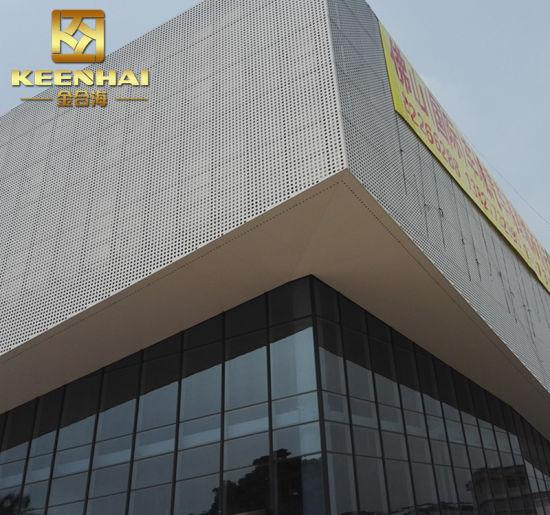 Modern Aluminium Sheet Metal Perforated Facade Panel (Keenhai-CW011)