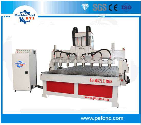 Muti Spindles Woodworking CNC Machine For Cabinet Door, MDF, Acrylic