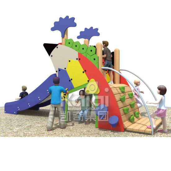 Kaiqi Outdoor PE Playground Equipment pictures & photos