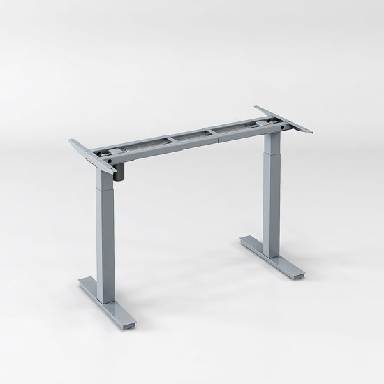 Solid Steel Electric Height Adjustable Electric Standing Desk Frame