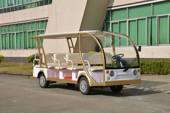 Made in China 4 Wheeler Passenger Pick up Electric Sightseeing Vehicle