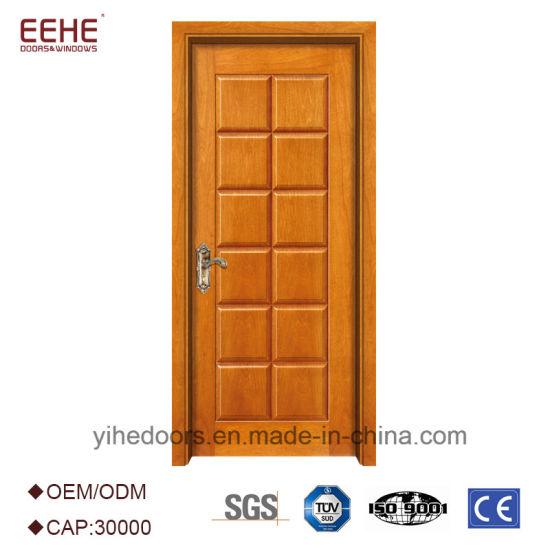 Modern Interior Bedroom Wooden Door