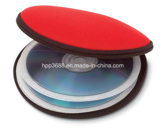 Custom Packing Protective Portable EVA PU CD DVD Carry Case