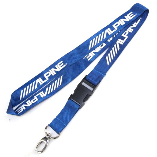 Wholesale Cheap OEM Lanyard for Chest Card Work Permit