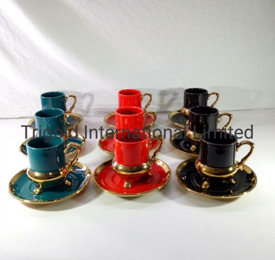 High Quality porcelain Cup with Saucer Coffee Cup