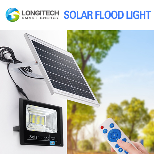 30W 100W Power Flood Decorative Lamp LED Solar Wall Light Outdoor