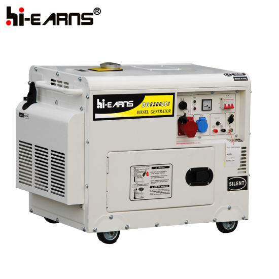 7kw Home Use Silent Diesel Generator Set Price (DG8500SE) pictures & photos