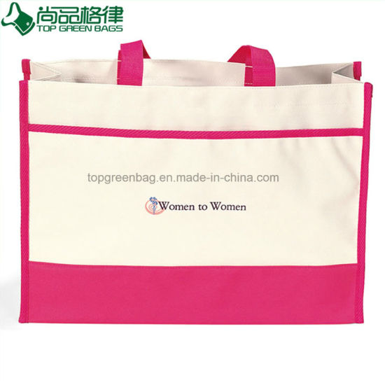 Wholesale Cheap Durable Oxford 600d Nylon Polyester Shopping Tote Bag