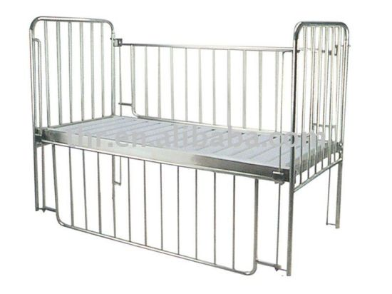 Thr-CB12 Cheap Stainless-Steel Flat Children Medical Bed pictures & photos