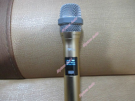 Dx38 LCD Display Cordless Microphone pictures & photos