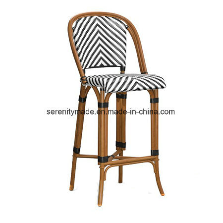 Superb Hampton Style Paris Rattan High Back Cafe Bar Stools China Creativecarmelina Interior Chair Design Creativecarmelinacom