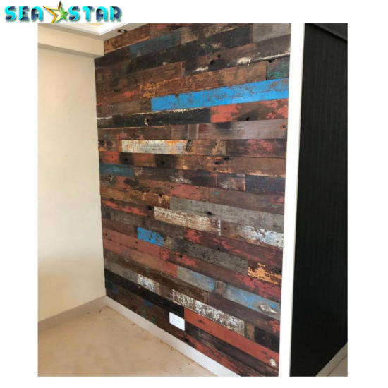 Western Style Reclaimed Wood Panel