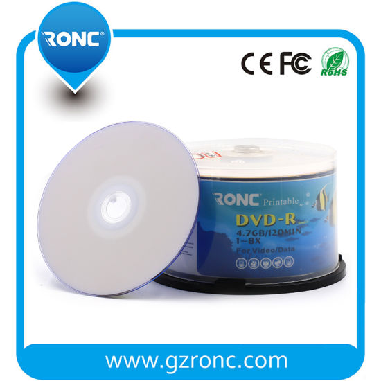 Professional Grade Blank CD Printable 52X 700MB CD-R Disc pictures & photos