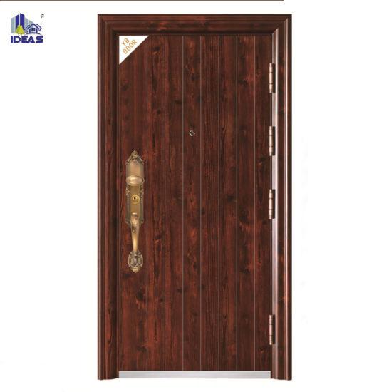 China Interior Swing Wooden Safety Door Designs For Homes China Safety Door Door