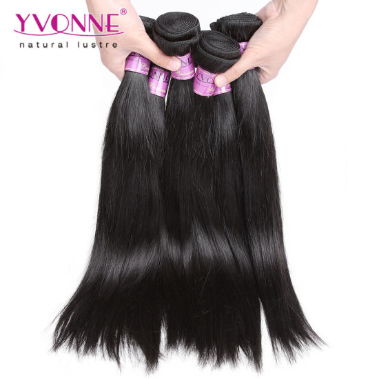 Natural Straight Peruvian Virgin Remy Hair Extension