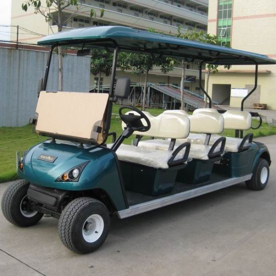 China Cheap Wholesale 6 Seats 48V Motor Electric Golf Cart