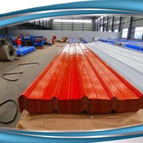 China Colour Coated PPGI PPGL Galvalume Galvanized Metal Roofing ...
