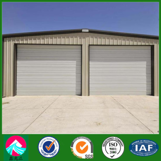 China Prefabricated Low Cost Steel Structure Garage with Two Parking ...