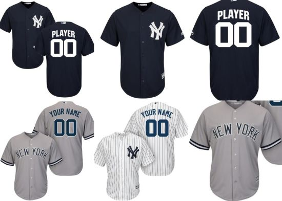 the latest 5e4b9 f46d5 Customized Men Women Kids New York Yankees Baseball Jerseys