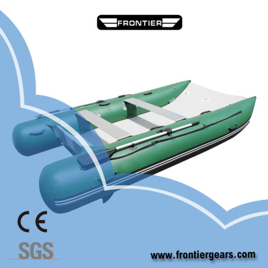 6person Audac Inflatable Boat Catamaran Boat /Canoe/Yacht