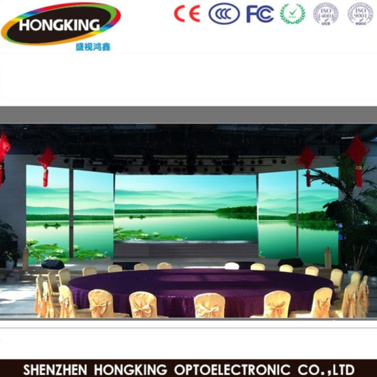 Advertising High Refresh 3840Hz Indoor P2.5 P3 LED Display Board