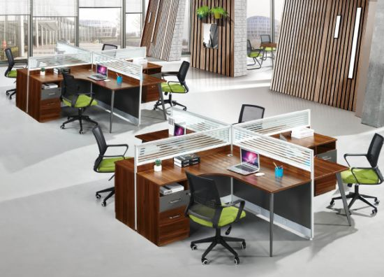 Special Shaped Workstation for Staff (OWCK-1001-172)