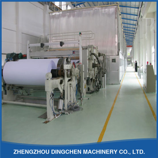 1880mm Type 20 T/D Recycling Printing Paper Making Machine