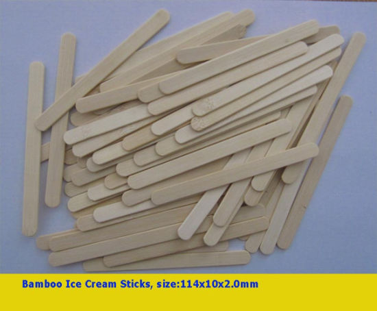 Popular Material Bamboo Ice Cream Sticks (LY-BICS)