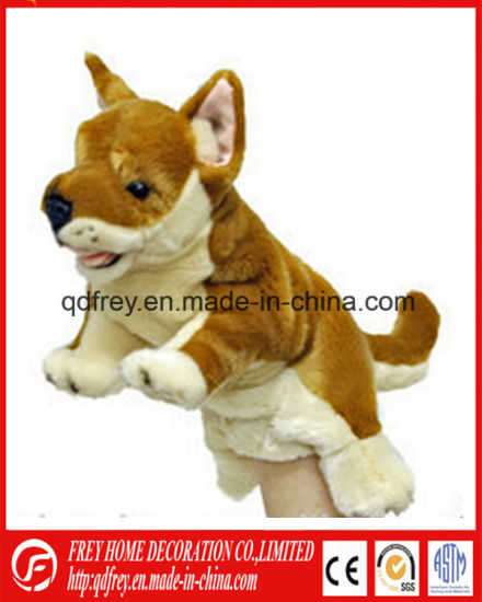 Story Talking Hand Puppet of Dog Toy pictures & photos