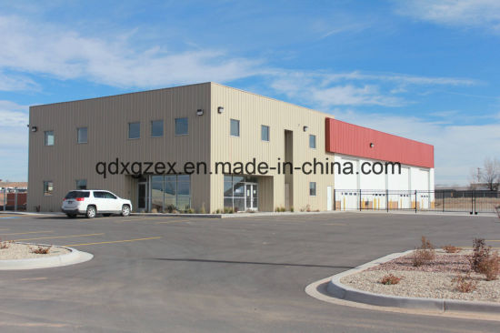Customized Prefab Steel Frame Warehouse Admin Office Building