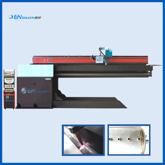 Automatic TIG and MIG Straight Seam Welding Production Machine with Non-Pressure for Solar Water Heater Inner Tank