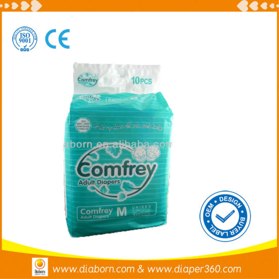Keeping Bed Clean Quality Conpetitive Disposable Adult Waterproof Diaper pictures & photos