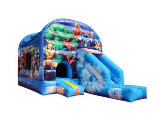 Marvel Heroes Inflatable Bouncy Slide Combo Chb597