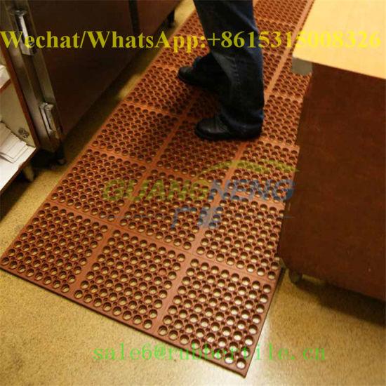 Anti Skid Rubber Backing Kitchen Mat