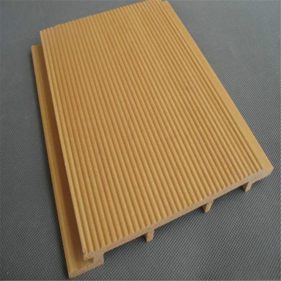 WPC Outdoor Wall Cladding/Interlocking Exterior Wall Panels Wood Plastic  Composite