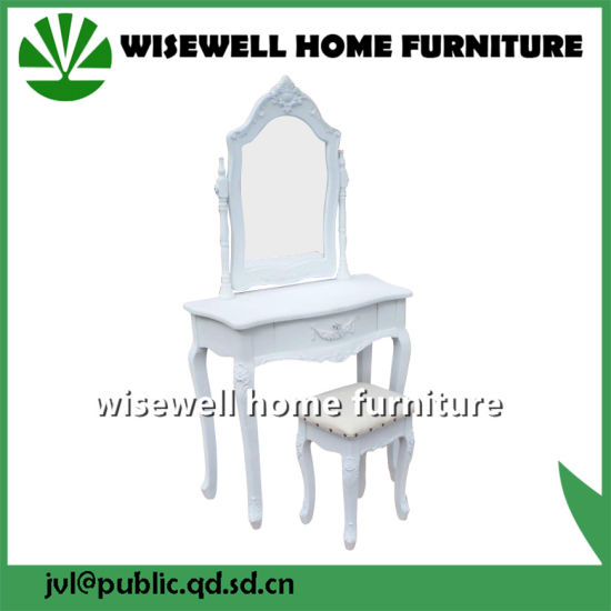 Bedroom Furniture Type and Dresser Specific Use Dressing Table (W-HY-015B) pictures & photos