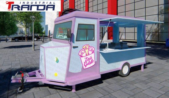 2018 Manufacture Food Trailer Australia Alibaba China Trolley Cart Supplier Vintage Truck