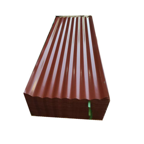 Color Coated Metal Roofing Corrugated Steel Sheet in Ghana