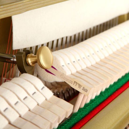 Latest Model Vertical Piano 125cm pictures & photos