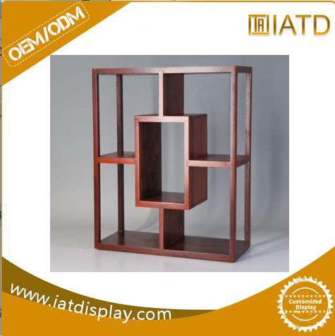 China Pop Up Wooden Melamine Mdf Display Shoe Book Stand China